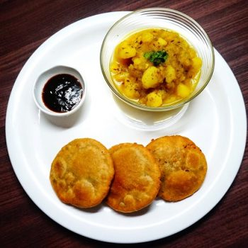 Kachori - with Aloo Sabzi